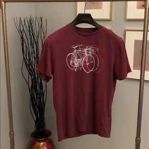 Banana Republic Bicycle T-shirt